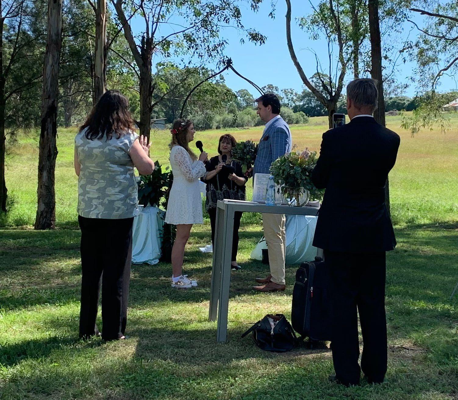 5 person rule wedding